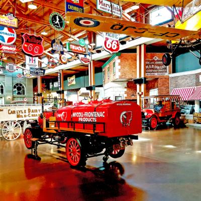 Heritage Park - Gasoline Alley